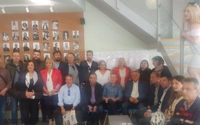 """Επίσκεψη της παράταξης """"Ήπειρος ΟΛΟΝ¨ στο εκλογικό κέντρο της παράταξης 'Ενότητα Πολιτών-Νέα Γιάννενα"""